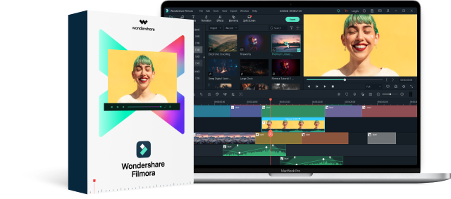 Wondershare Filmora X (Mac) – Efficient video editing program for beginners and professionals